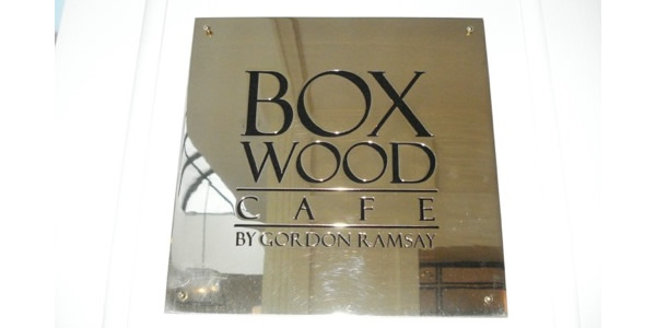 The Boxwood Cafe, London