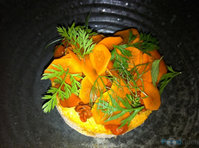 Carrot & Liquorice Dessert