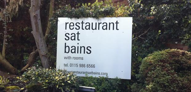 Restaurant Sat Bains, Nottingham