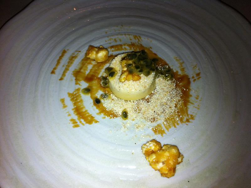 Sweetcorn Miso Dessert