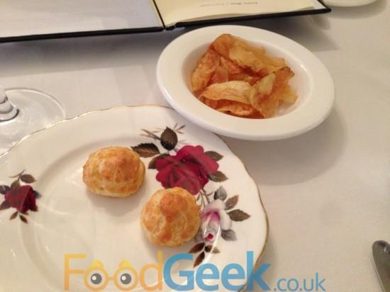 Cheese Puffs, Homemade Crisps