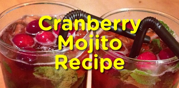 Cranberry Mojito Recipe