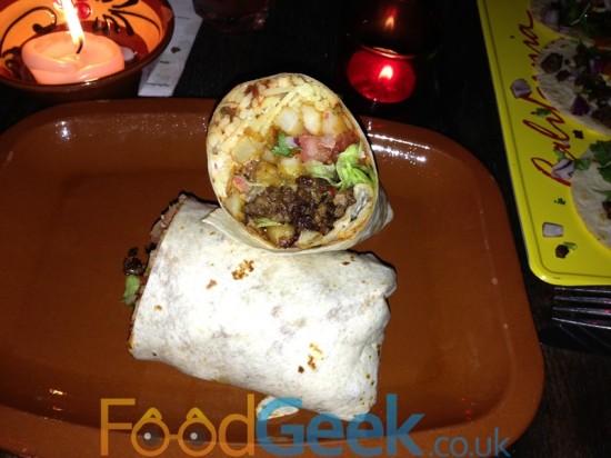 Barrio Star Burrito