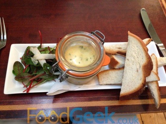 Potted Crab Custard