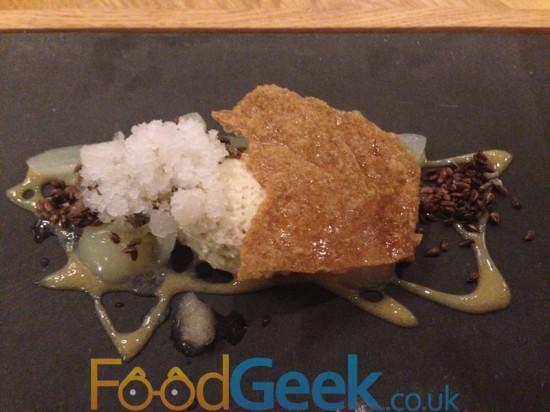 Pear, Meadowsweet, Rye, Buttermilk & Linseeds