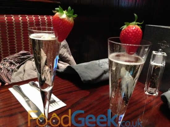 Prosecco & Strawberries