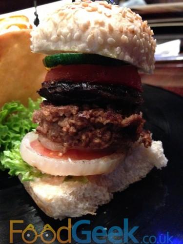 Veggie Leggie Burger
