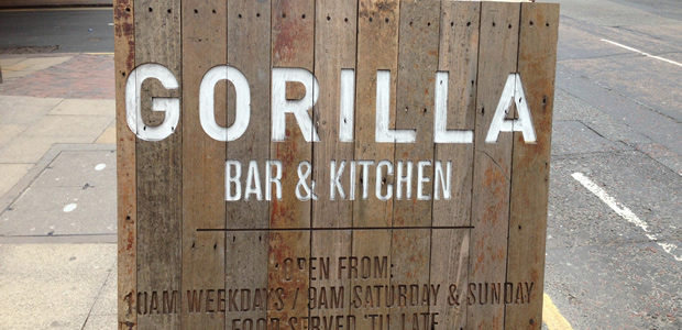 Gorilla Bar & Kitchen, Manchester (Revisit)