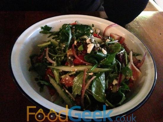 Puy Lentil & Chorizo Salad