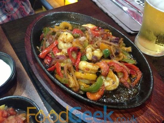 Sizzling Shrimp & Veg