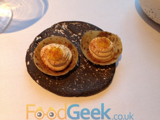 Fois Gras & Orange Tartlet