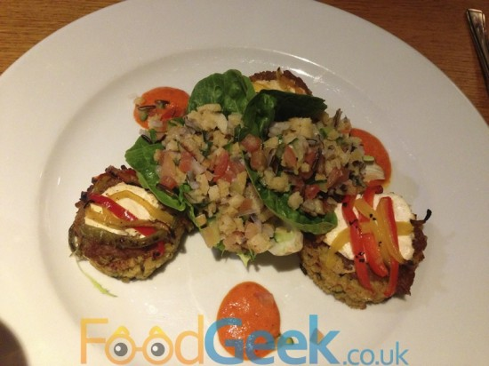Bulgar Wheat & Pepper Cakes