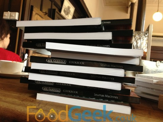 Seumas MacInnes - Cafe Gandolfi Cookbook