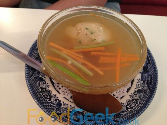 Chicken Matzo Ball Soup