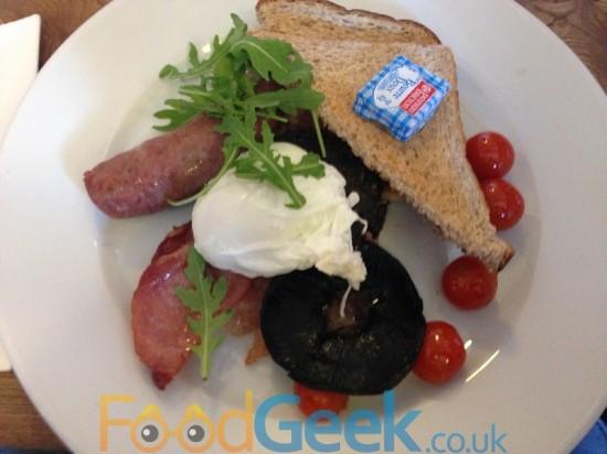 The Gandolfi Full Scottish Breakfast