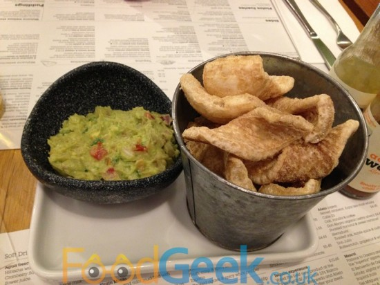 Guacamole & Fennel Pork Scratchings