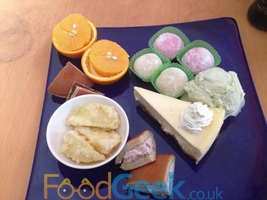 Japanese Dessert Platter