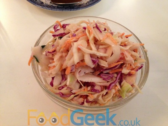 Pickled Radish & Chilli Slaw