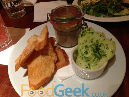 Potted Smoked Mackerel