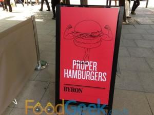 'Proper Hamburgers'