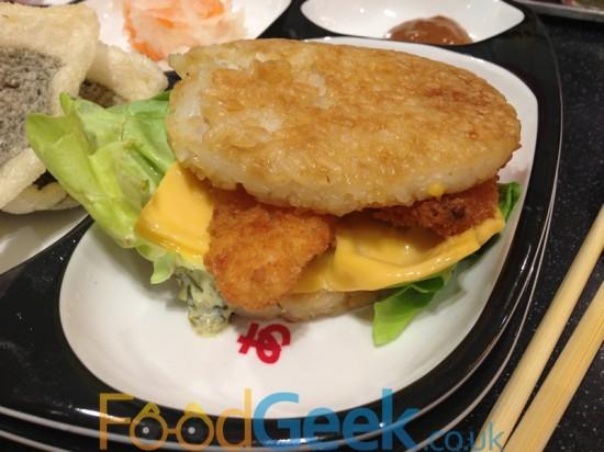 Tilapia Yo! Burger