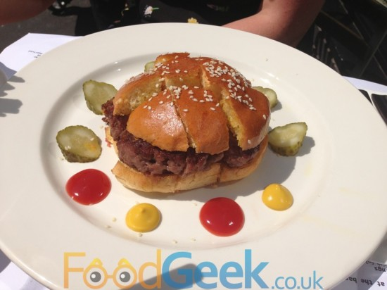 Burger Fondue Burger