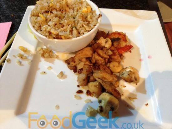 Chicken With Leek, Mushrooms & Tokyo Butter