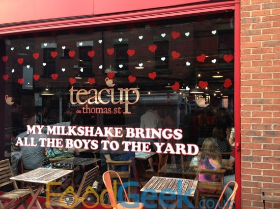 Teacup on Thomas Street