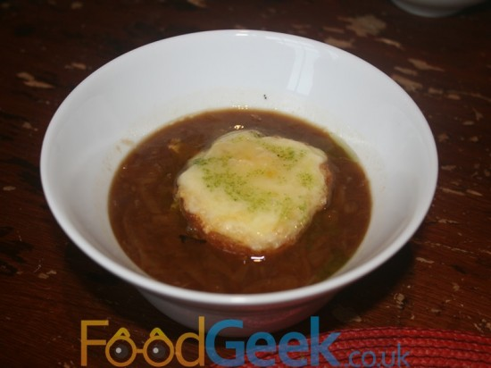 Gamekeeper Menu: Venison & English Onion Soup