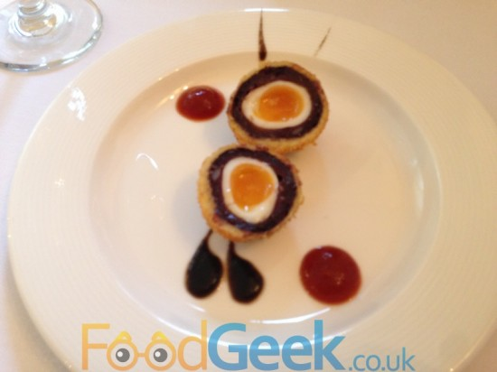 Bury Black Pudding Scotch Egg