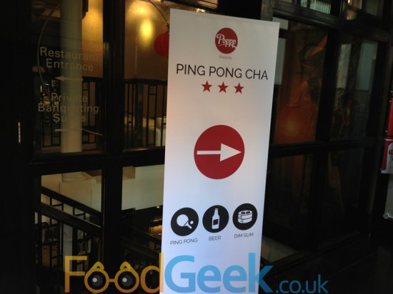 Ping Pong Cha @ Yang Sing