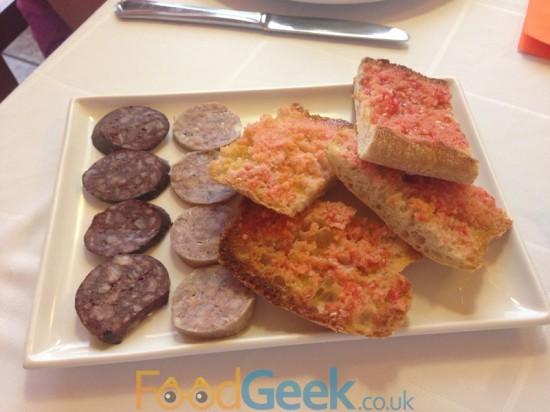 Tomato Bread & Sausage