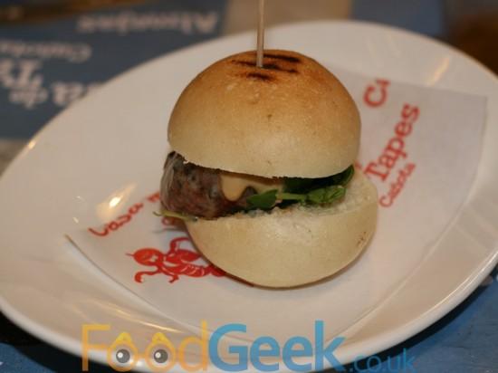Dani Garcia's 'Burgerbull'