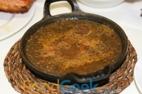 Lentil & Chorizo Casserole