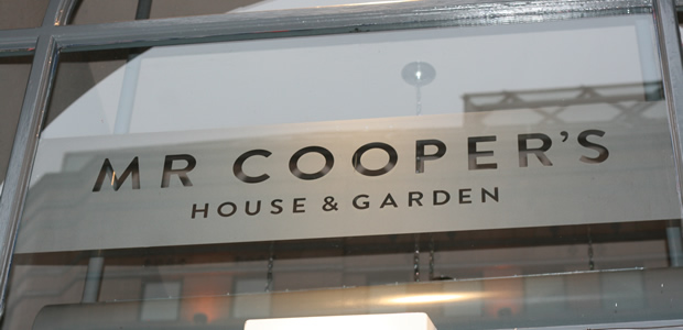Mr Coopers House & Garden by Simon Rogan @ The Midland Hotel, Manchester