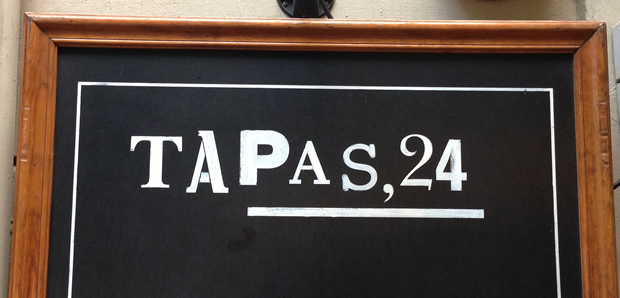 Tapas 24, Barcelona, Spain – Home Of The McFoie!