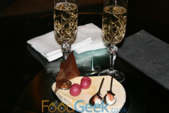 Champagne & Canapes