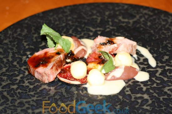 Veal Fillet, Black Figs & Lemon Gnocchi