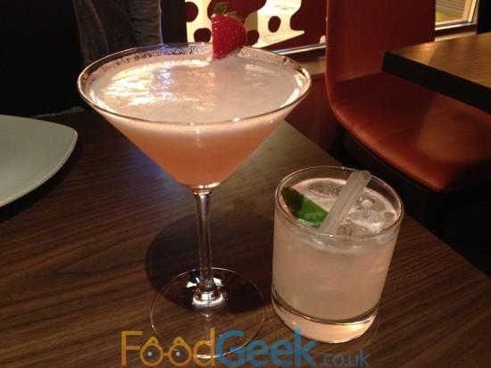 Goan Martini & Bombay Caipirinha