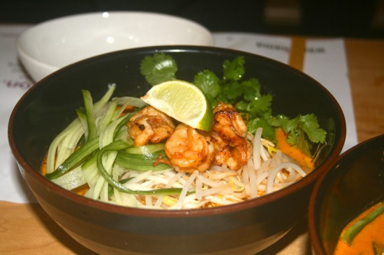 Coconut & Lemongrass Soup with Prawn