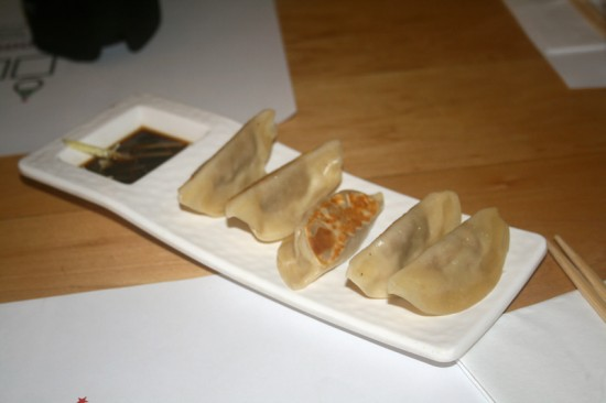 Shredded Pig Gyoza