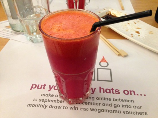 Beetroot, Carrot & Orange Juice