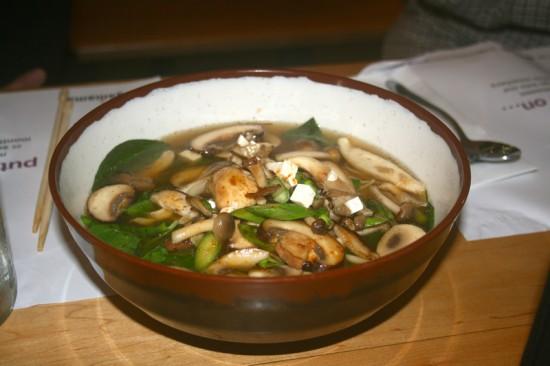 Mixed Mushroom & Tofu Ramen