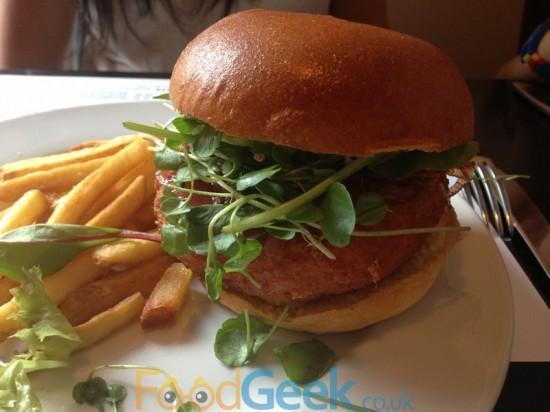 Special SoLita 'V' Burger