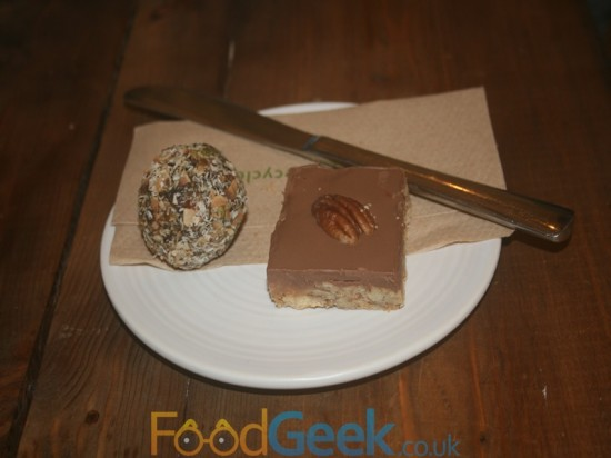 Superfood Ball & Pecan Slice