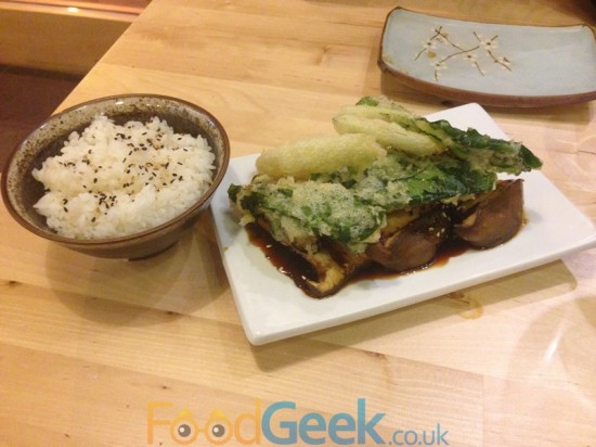 Teriyaki Mushroom Steak