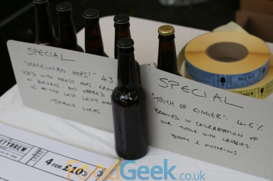 TicketyBrew Specials