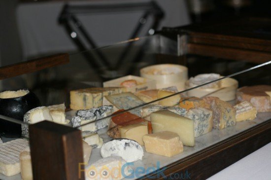Fraiche Cheese Trolley