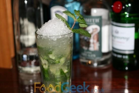 Hendricks Gin Mojito