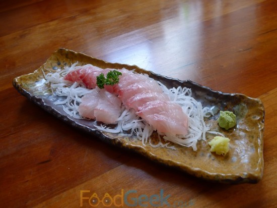 Pink Bream Sashimi